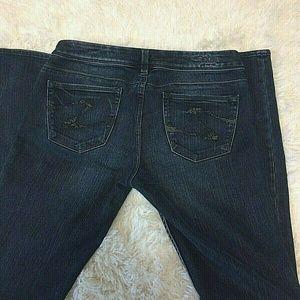 Silver Sienna 28 Dark Wash Skinny Legging Jean